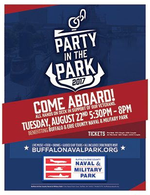 Party in the Park 2017, fundraiser, buffalo naval park, buffalo ny