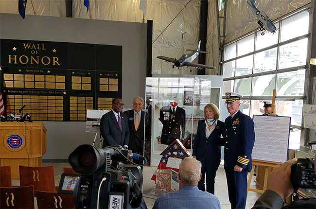 Buffalo Naval Park honors, Ralph Wilson Jr, Free Admission, BNMP