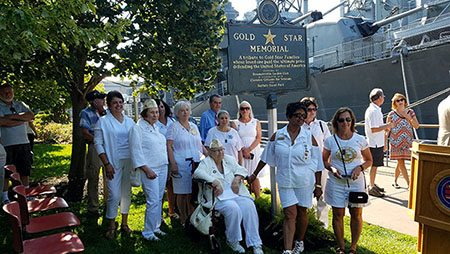 Buffalo Naval and Military Park, Gold Star Mothers, BNMP,