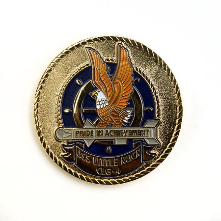 USS Little Rock Challenge Coin