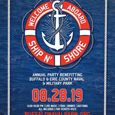 Buffalo Naval Park, Ship N Shore, Event, Fundraiser