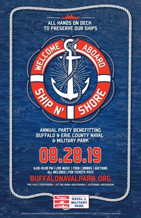 Buffalo Naval Park, Ship N Shore, Event, Fundraiser