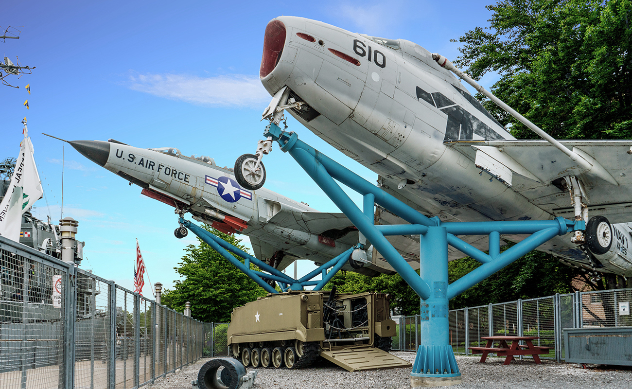 Buffalo Naval Park, US Air Force, Fighter Jets, Military Museum