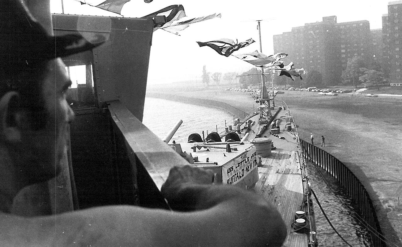Buffalo Naval Park, Vintage Photo, USS Little Rock, Military Museum